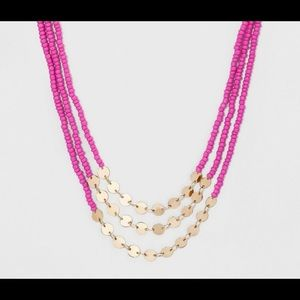Sugarfix by Baublebar bead necklace pink gold